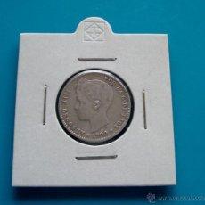Monedas de España: MONEDA DE PLATA DE 1 PESETA ALFONSO XIII AÑO 1900 SM V. Lote 45675246