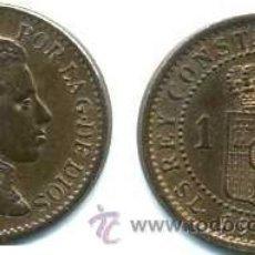 Monedas de España: ALFONSO XIII, I CÉNTIMO 1906 (6) SLV SIN CIRCULAR. Lote 45677601