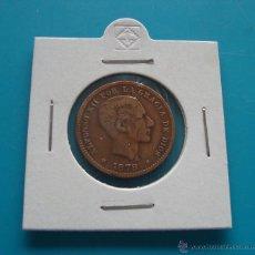 Monedas de España: ANTIQUISIMA MONEDA DE COBRE 5 CENTIMOS AÑO 1878 ALFONSO XII. Lote 45678204