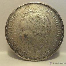 Monedas de España: DURO DE ALFONSO XIII- FALSO- 1893 . Lote 154666728