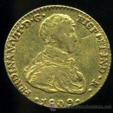Monedas de España: FERNANDO VII - 2 ESCUDOS DE ORO SEVILLA 1809 - TIPO SENECA. Lote 45930000