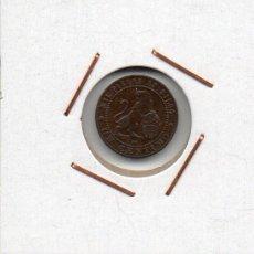 Monedas de España: GOBIERNO PROVISIONAL : 1 CÉNTIMO 1870 OM BARCELONA MBC+. Lote 45933713