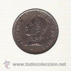 Monedas de España: MONEDA ALFONSO XIII - 2 GR. COBRE - AÑO 1912 - MBC-EBC - CATALOGO HNOS. GUERRA N. 13 - PAG. 28. Lote 45976839