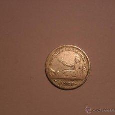 Monedas de España: GOBIERNO PROVISIONAL 1869 1 PESETA. Lote 46029540