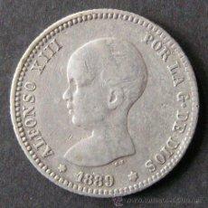 Monedas de España: ALFONSO XIII - 2 PESETAS 1889 ( - / 89 ). Lote 46315326