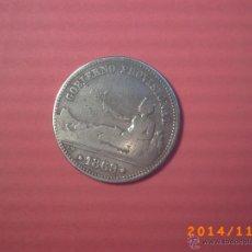 Monedas de España: MONEDA DE UNA PESETA DEL GOBIERNO PROVISIONAL AÑO 1870 - PLATA -. Lote 46328939