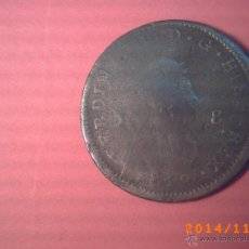 Monedas de España: MONEDA DE OCHO MARAVEDIS FERNANDO VII - AÑO 1818 ? - COBRE -. Lote 46333485