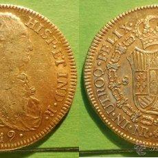 Monedas de España: FERNANDO VII 8 ESCUDOS1819A.C.-110 NUEVO REYNO -JF- MBC AU. Lote 59448016