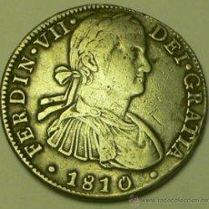 Monedas de España: 8R FERNANDO VII 1810 MEJICO HJ. Lote 46632334