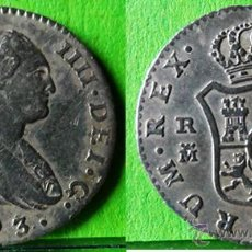 Monedas de España: CARLOS IV 1 REAL1793A.C.-1122 MADRID -MF- MBC+ AG. Lote 46676814