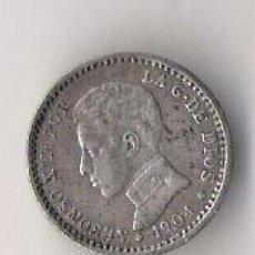 Monedas de España: ALFONSO XIII 50 CENTIMOS 1904 . Lote 46799452