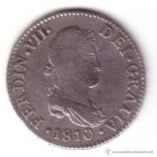 Monedas de España: ESPAÑA: 2 REALES PLATA 1810 CADIZ FERNANDO VII *NUMISBUR*. Lote 46947368