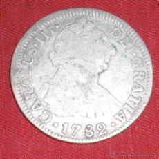 Monnaies d'Espagne: 2 REALES CARLOS III 1782 MEXICO. Lote 47254474