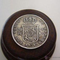 Monedas de España: ESPAÑA. 20 CENTAVOS DE PESO 1885 ALFONSO XII FILIPINAS AXJ. Lote 47484661