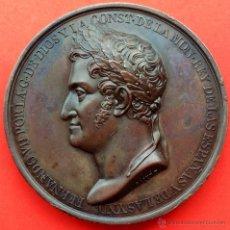 Monedas de España: PRECIOSA Y ESCASA MEDALLA DE FERNANDO VII. RESTAURACION DE LA CONSTITUCION. 1820. CALIDAD SC-. Lote 48105975