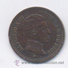Monedas de España: ALFONSO XIII- 2 CENTIMOS-1904*04. Lote 48172081