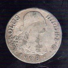 Monedas de España: CARLOS IIII. 2 REALES. 1808. MADRID A.J. Lote 288719038