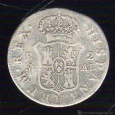 Monedas de España: CARLOS IIII. 2 REALES. 1808. MADRID A.J. Lote 48292706
