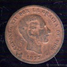 Monedas de España: ALFONSO XII. 5 CENTIMOS. 1877.. Lote 48295358