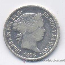 Monedas de España: ISABEL II- 20 CENTAVOS-1868-MANILA. Lote 48406944