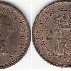 Monedas de España: ALFONSO XIII: 2 CTM 1911. Lote 48536958