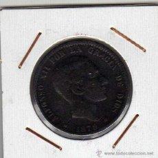 Monedas de España: ALFONSO XII : 10 CÉNTIMOS 1879 OM BARCELONA BC. Lote 48689215