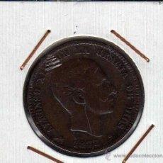 Monedas de España: ALFONSO XII : 10 CËNTIMOS 1877 OM BARCELONA MBC-. Lote 48691535