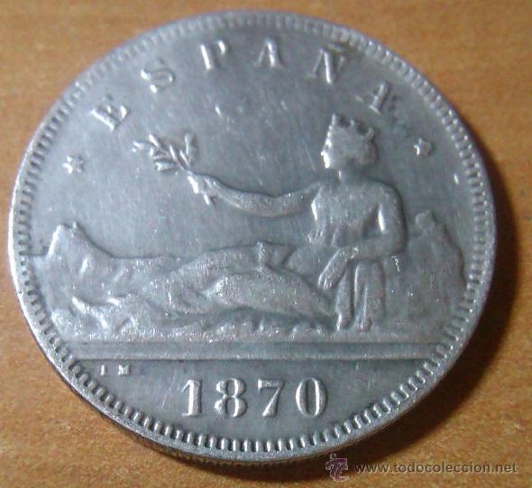 Monedas de España: INTERESANTE LOTE DE 3 MONEDAS DE ESPAÑOLAS 2 PESETAS 1870 + 25CTS 1937 + 1 MON. PUBLICITARIA D EPOCA - Foto 2 - 48710018