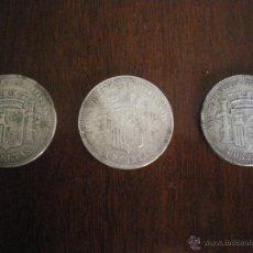 Monedas de España: LOTE DE TRES DUROS DE PLATA-GOBIERNO PROVISIONAL 1870. Lote 48719029
