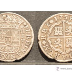 Monedas de España: 2 REALES SEVILLA 1759 FERNANDO VI PLATA. Lote 48861700