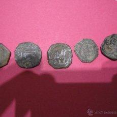 Monedas de España: LOTE DE RESELLOS MEDIEVALES RESELLO MEDIEVAL O CORTADILLOS CORTADILLO ANTIGUO. Lote 49044839