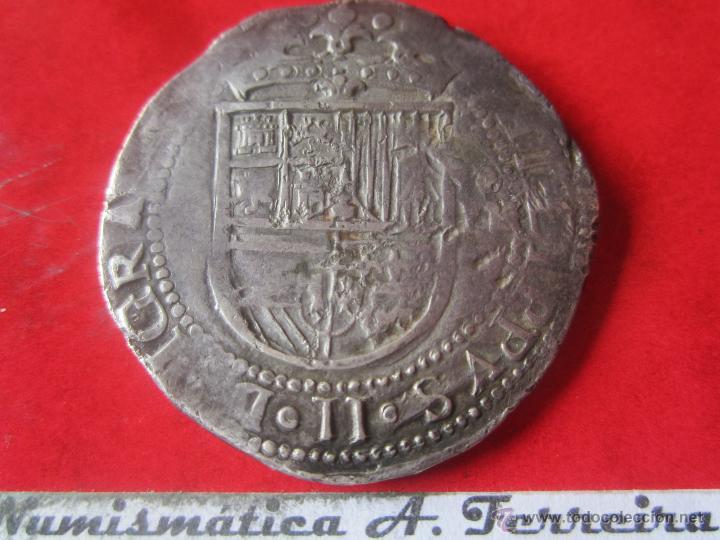 8 Reales De Felipe Ii 185698 Sevilla Comprar Monedas De Reyes
