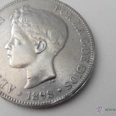Monedas de España: ALFONSO XIII - 1898 - POR LA GRACIA DE DIOS - 5 PESETAS SG V. Lote 49091146