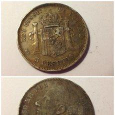Monedas de España: MONEDA 1884 ALFONSO XII - DURO DE PLATA. Lote 49114950