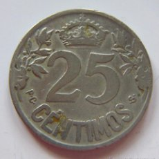 Monedas de España: 25 CENTIMOS.1925. Lote 49154489