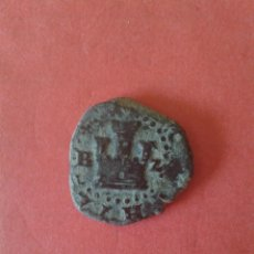 Monedas de España: FELIPE II. 2 CUARTOS. CECA DE BURGOS.. Lote 94823627