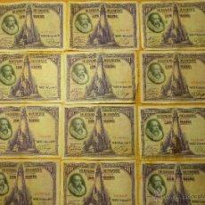 Monedas de España: 33 BILLETES VARIOS VALORES Y CALIDADADES, ESPAÑOLES, DESDE LOS AÑOS 1925 AL 1931, MAS UNO DEL 35. . Lote 49396538