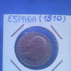 Monedas de España: MONEDA DE PLATA, 4 REALES DE JOSE I BONAPARTE 1810 CECA MADRID A I MBC+.. Lote 49452040