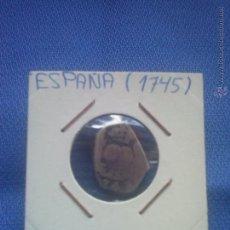 Monedas de España: MONEDA DE PLATA, 2 REALES DE FELIPE V 1745 GUATEMALA J BC+ COLUMNARIO * ESCASA *. Lote 49462978