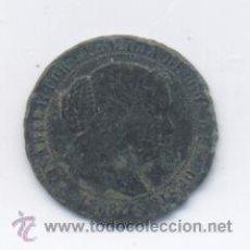 Monedas de España: ISABEL II- 1/2 CENTIMO DE ESCUDO-1868-SEGOVIA. Lote 49511146