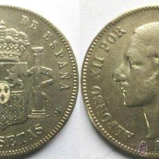 Monedas de España: ALFONSO XII 5 PESETAS AÑO 1885 - MADRID MS M.. Lote 49511472