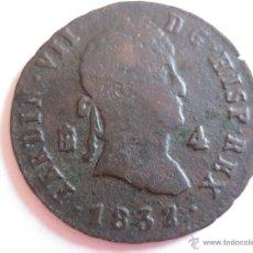 Monnaies d'Espagne: 4 MARAVEDIS FERNANDO VII - SEGOVIA. Lote 49649093
