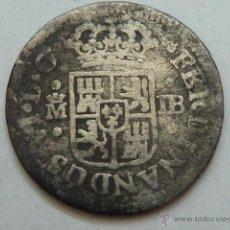 Monedas de España: MONEDA DE PLATA DE MEDIO REAL DE FERNANDO VI DE 1752 CECA MADRID ENSAYADORES J B. Lote 49690205