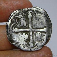 Monedas de España: 2 REALES MACUQUINOS. PLATA. FELIPE IV. MEXICO.. Lote 49872273