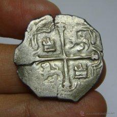 Monedas de España: 2 REALES MACUQUINOS. PLATA. FELIPE III. MEXICO - MF. Lote 49872355