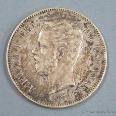 Monedas de España: MONEDA DE PLATA. AMADEO I. 5 PESETAS. 1871. *74. Lote 49899348