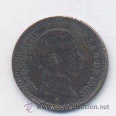 Monedas de España: ALFONSO XIII- 2 CENTIMOS- 1904*04-SMV. Lote 50037734