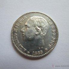 Monedas de España: ALFONSO XII * 50 CENTIMOS 1885*8-6 MS M * PLATA. Lote 50097603