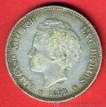 Monedas de España: MONEDA 5 PESETAS 1892 , ALFONSO XIII ,ESTRELLAS VISIBLES 18 92 ,DURO DE PLATA , MBC ,ORIGINAL ,D1570. Lote 50153698
