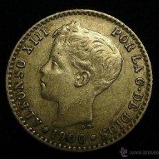 Monedas de España: MONEDA DE PLATA DE 50 CENTIMOS ALFONSO XIII DE 1900. Lote 50502844